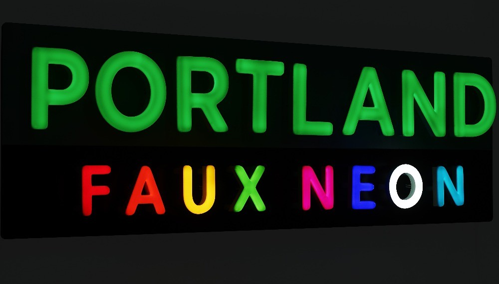 Portland Lighting FAUX NEON Lighting Product